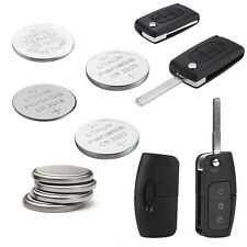 2 Car Key Fob Remote Replacement Batteries For Ford Vauxhall Nissan Audi Peugeot