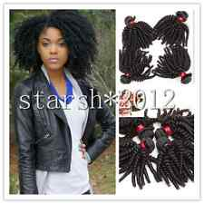 Brazilian Real Human Hair Extensions  3pcs Afro Kinky Curly Virgin Natural Black