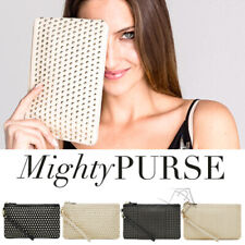 Mighty Purse STUD WRISTLET Mobile Phone iPhone Android Charger Clutch Handbag