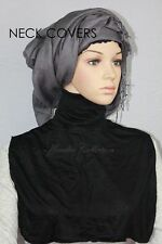 Neck Cover Extension Under garment Muslim Jersey Cotton Scarf one size fits all