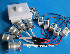 3W dimmable cabinet light led Ceiling Downlight with IR LED Dimmer PWM Dimmer