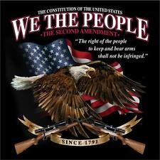 2nd Amendment We the people Second amendment The right to bear arms gun T shirt