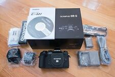 Olympus OM-D E-M1 16.3 MP Micro 4/3rds Digital Camera - Body Only, Used, Mint!!!