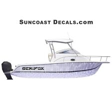 Sea Fox Logo Decal- Mako, Maxum, Sea Ray, Cobia and others available