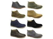 Hush Puppies DESERT II Mens Casual Comfy Soft Suede Leather Laced Desert Boots