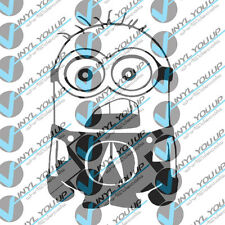 Acura minion decal sticker TSX TL Integra indoor outdoor