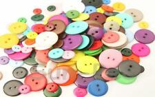 Standard Round Button small 11.5mm/12.5mm Resin 2 holes sewing doll scrapbooking