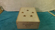 2009 HUNDRED ACRE PRECIOUS VINEYARD CABERNET SAUVIGNON  WOOD WINE BOX TWO BOTTLE