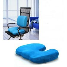 Deluxe Memory Back Ache Pain Office Chair Orthopedic Seat Solution Cushion