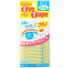 Koji Japan Technical Eye Tape for Double Eyelid Makeup (30 pieces) Slim or Wide
