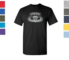 AIRBORNE Army Military T-Shirt Physical Training Vintage Boot Camp Shirt