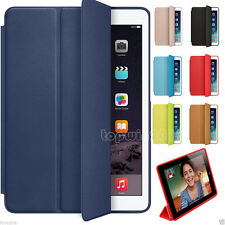New For Apple iPad Air 2 Magnetic Slim Flip Leather Smart Stand Cover Back Case