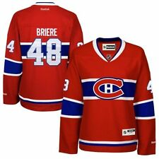 Daniel Briere # 48 Montreal Canadiens Premier Stitched Youth NHL Jersey
