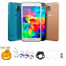 Unlocked - Samsung Galaxy S5 SM-G900P - 16GB - 16MP SMARTPHONE BLACK WHITE GOLD
