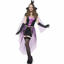Ladies Fever Mirror Mistress Costume Fancy Dress Womens Party Outfit Halloween