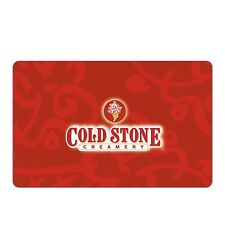 Cold Stone Creamery eGift Card - $25 $50 $100 - Email delivery