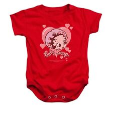 Betty Boop Baby Heart Infant Snapsuit T-Shirt