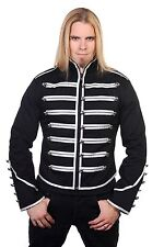 Banned Military Drummer Jacket Black Parade Jacket Goth Punk Adam Ant Style