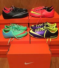 Nike Mercurial indoor soccer shoes unisex youth girl or boy mult szs