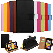 Flip Leather Luxury Magnetic Wallet Card Holder Case Cover For Nokia Lumia Smart
