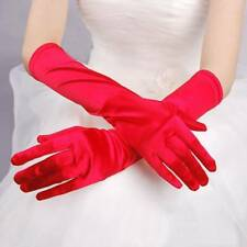 Hot Satin Long Gloves Opera Wedding Bridal Evening Party Costume GLOVES