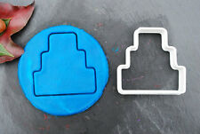 Three Tiered Wedding Cake Cookie Cutter, 3D Printed