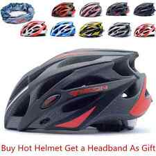 M/L 25 Vents MTB/Road Bike Bicycle Men&Women Safety Helmet With Headband As Gift