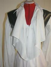 NEW PIRATE SHIRT WHITE, RUFFLES & LACE CUSTOM MADE TO FIT YOU, ANY SIZE