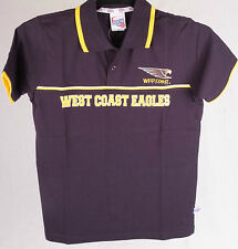 Official AFL West Coast Eagles Youth Polo Size 10
