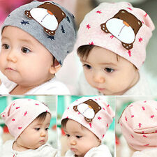 I02 New Beanies Cap Baby Boy Girl Hats Children Toddler Infant Soft Cotton Hats