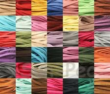 Soft Lace Leather Faux Suede Rope Cord Thong for Jewelry Crafts Repairs Assorted