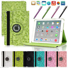 360 Rotating Leather Smart Stand Case Cover For Apple iPad Air 2 3 4 iPad Mini