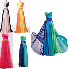STOCK New Hot Formal Chiffon Prom Party Ball Bridesmaid Evening dress Size6-18