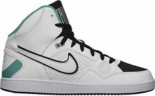 SALE BRAND NEW MENS NIKE SONS OF FORCE HI TOP CASUAL SHOES WHITE/BLACK RRP:$145