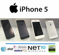 Apple iPhone 5 16/32/64GB GSM Unlocked (Factory Unlocked) 4G LTE Black or White
