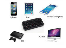 Mini Bluetooth Keyboard Pad For iPhone iPad PS3 Mac Android Tablets Smartphones