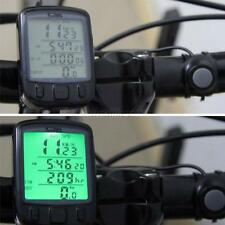 Pro Digital LCD Waterproof Cycle Bicycle Bike Computer Odometer Speedometer T43
