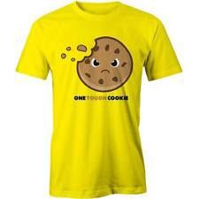 One Tough Cookie T-Shirt Funny Cartoon Monster Foody Tee New