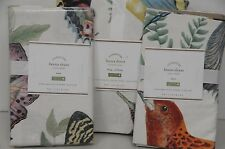 NEW POTTERY BARN Fauna Queen  King DUVET COVER Butterflies Standard 2 SHAMS 3PCS