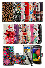 Samsung Galaxy Trend S7560 - Printed Pattern Lush Design Book Case Cover &Stylus