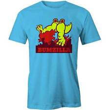 Bumzilla T-Shirt Funny Monster Creature Fart Farting Tee New