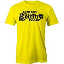 Let Me Show You How Country T-Shirt Music Tamworth Funny Tee New
