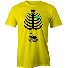 X-Ray Fast Food Baby T-Shirt Funny Big Fat Eater Obese Junk Tee New