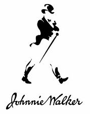 Johnnie Walker Scotch Whisky Decal Sticker Black Blue Label