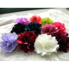 New Fashion Woman Lady Peony Flower Hair Clip Hairpin Brooch 6 Colors