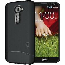TUDIA Ultra Slim Matte ARCH TPU Skin Cover Case for LG G2 (for Verizon ONLY)