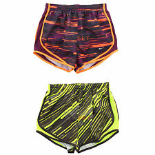 """Nike Womens Dri Fit 3.5"""" Printed Tempo Running Athletic Shorts 455702 XS S"""