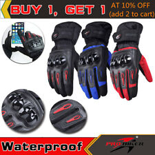 Pro-biker Windproof Waterproof Motorcycle Racing Winter Bicycle Cycling Gloves