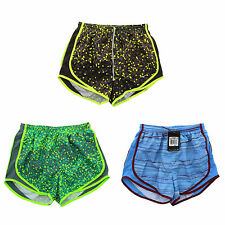 """Nike Womens Dri Fit 3.5"""" Printed Tempo Running Athletic Shorts 455702 S XS"""