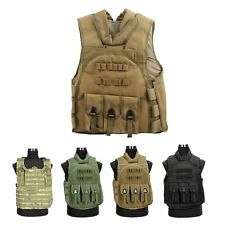 Combat Molle Assault Plate Military Army Airsoft Tactical SWAT Vest for Police